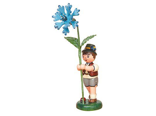 Hubrig - Flower boy with Cornflower