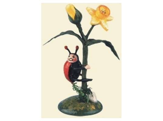 Hubrig - Lady beetle - narcissus (2 pieces)