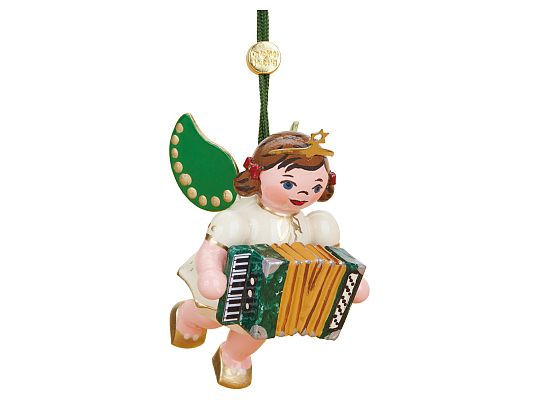 Hubrig - Tree hanging - Angel with accordion (available from  April/May 2021)