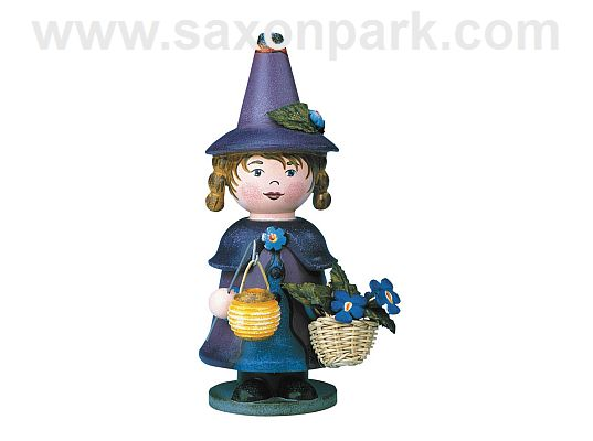 Hubrig - Incense smoker - Gnome Violet - scented (with video)
