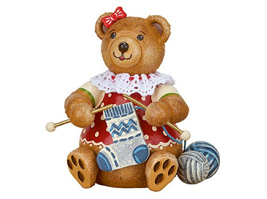 Hubrig - Teddy Knitter (mini)