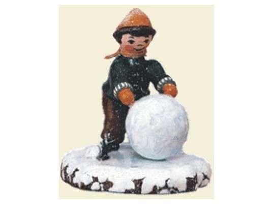 Hubrig - Boy with snowball