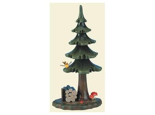 Hubrig - Summer tree by stack of wood