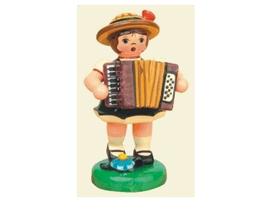 Hubrig - Girl with Accordion