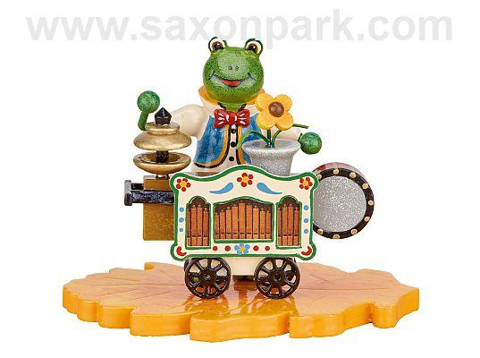 Hubrig - frog - organ grinder