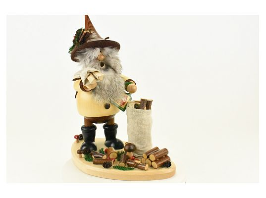 DWU - Smoker collector of branches with board (with video)
