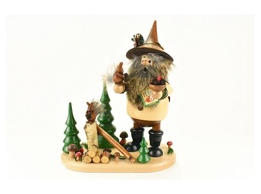 DWU - Smoker Dwarf with squirrel (with video)
