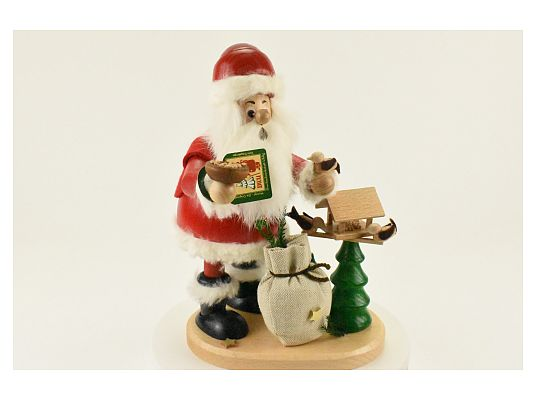 DWU -  Smoker Santa with birdhouse (with video)