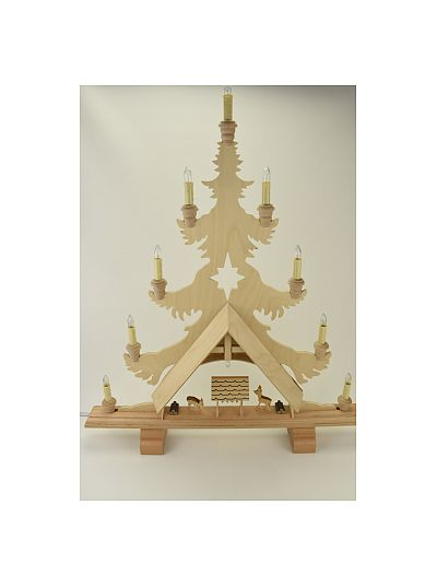 Dregeno - candle arch tree with deers elect. light