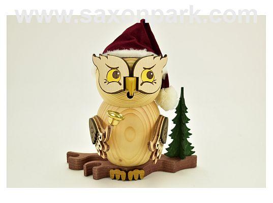 Kuhnert - smoker owl - Santa Claus (with video)