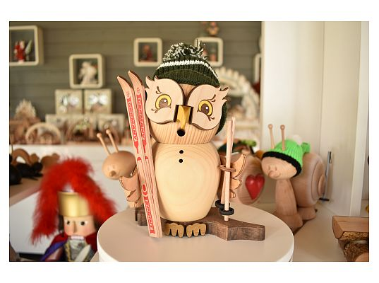 Kuhnert - smoker owl - skier (with video)