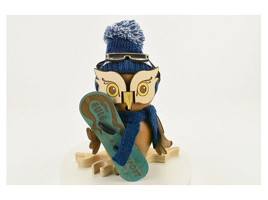 Kuhnert - smoker Owl with Snowboard (with video)