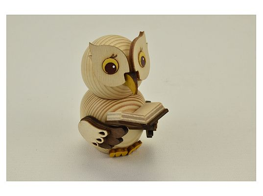 Kuhnert - Mini owl with book (with video)