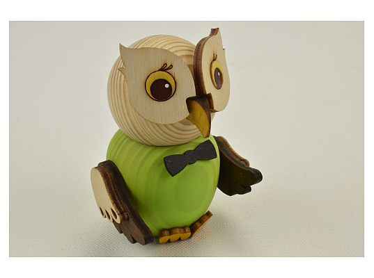 Kuhnert - Mini owl green (with video)