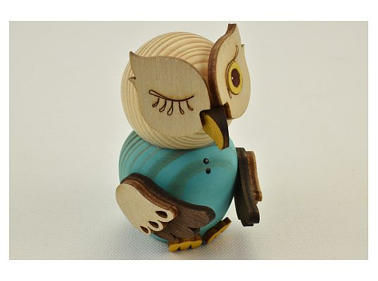 Kuhnert - Mini owl blue (with video)