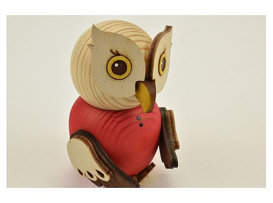 Kuhnert - Mini owl red (with video)