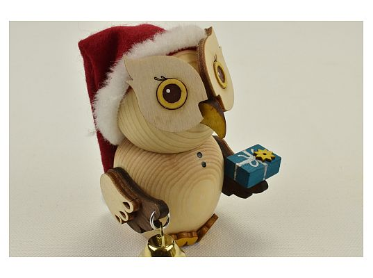 Kuhnert - Mini owl Santa Clause (with video)