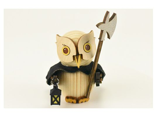 Kuhnert - Mini owl night watchman (with video)