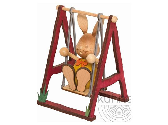 Kuhnert - Stupsi bunny on swing