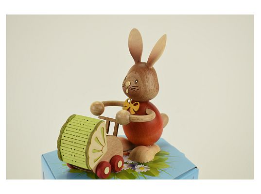 Kuhnert - Stupsi Bunny with buggy (with video)