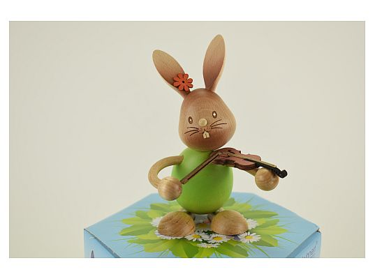 Kuhnert - Stupsi Bunny with violin (with video)