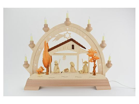 Taulin - round arch holy family modern