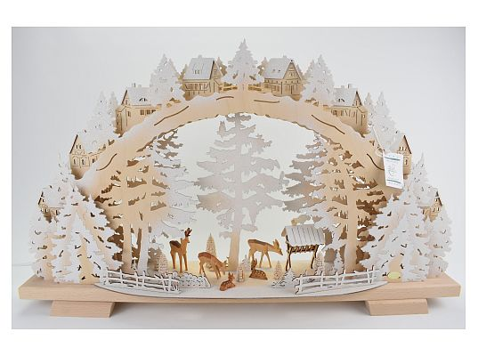 Tietze - candle arch snow-covered feeding of wild game