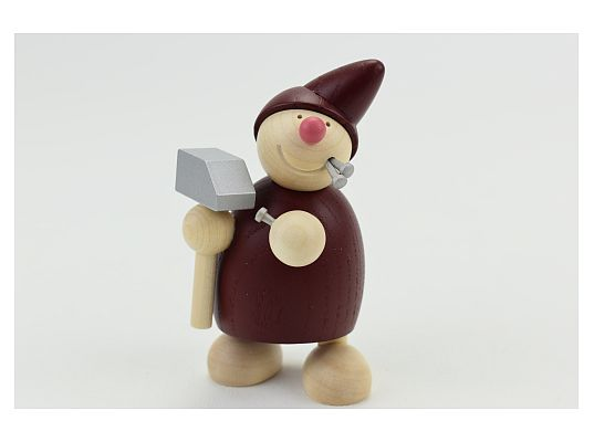 Naeumanns - Dwarf  with hammer and nails red