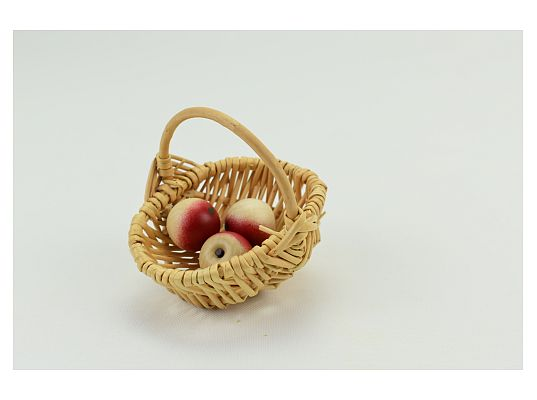 Naeumanns - Basket  with 3 apples