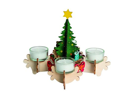 Kuhnert - craft kit advent candlestick