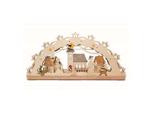Kuhnert - craft kit candle arch village elect.