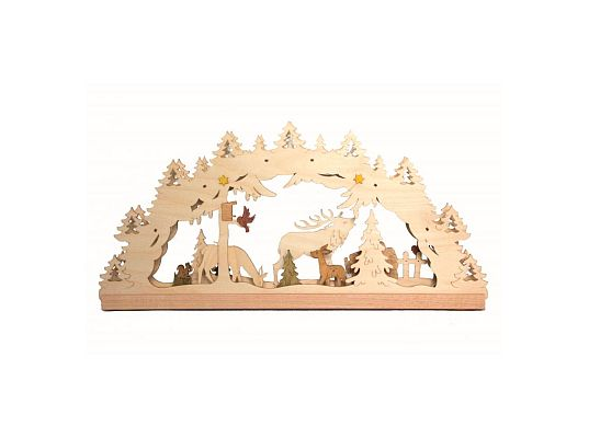 Kuhnert - craft kit candle arch forest elect.