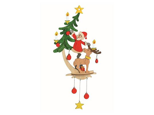 Kuhnert - craft kit Santa Claus with elk