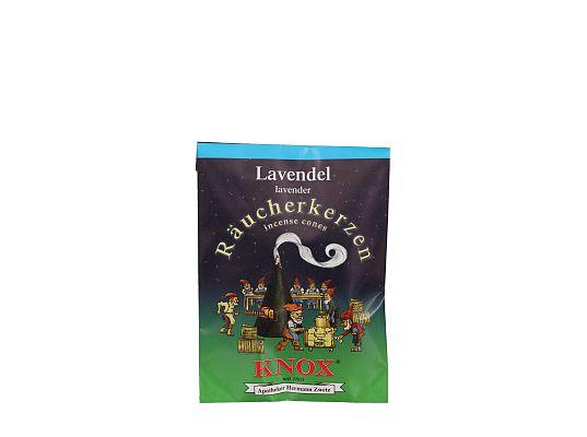 Ulbricht - Räucherkerzen Lavendel (5 Stück)
