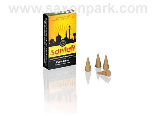 Seiffen Handcraft - Incense cones Pepper-Citrus