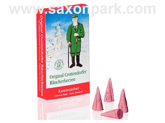Seiffen Handcraft - Incense cones Chimney Magic