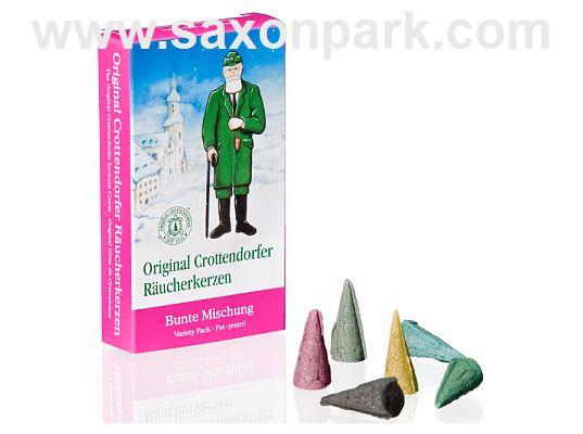 Seiffen Handcraft - Incense cones Variety Pack